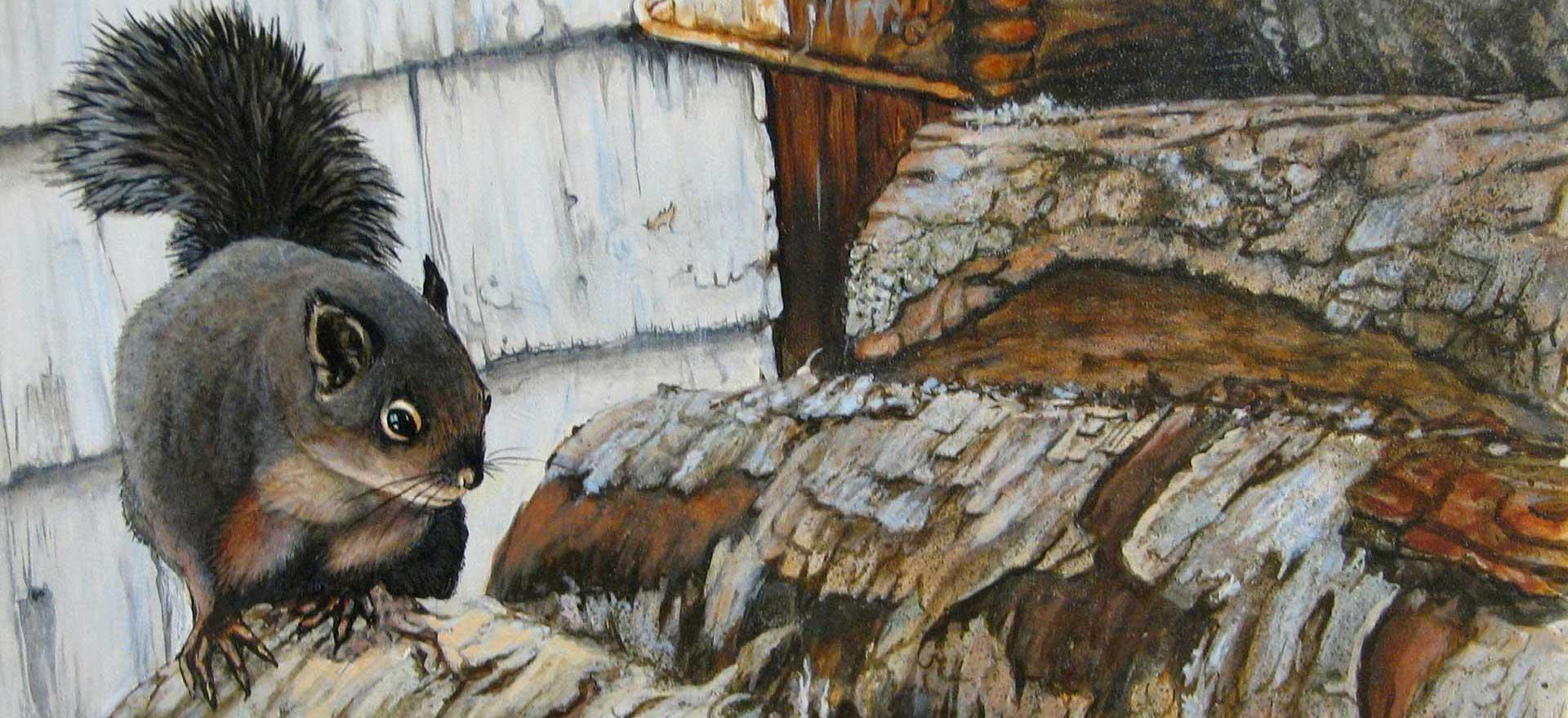 The-Wood-Pile--Joyce-Trygg-Acrylic